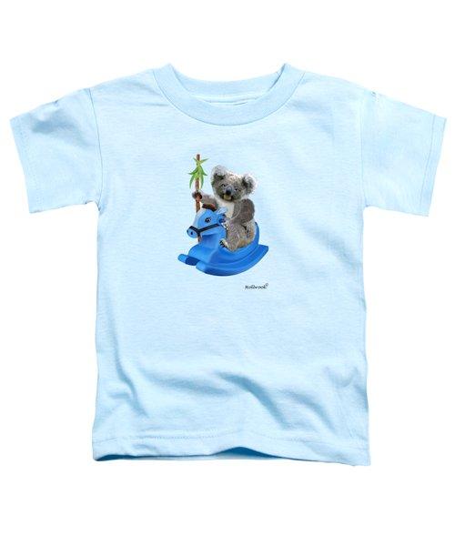 Baby Koala Buckaroo Toddler T-Shirt by Glenn Holbrook