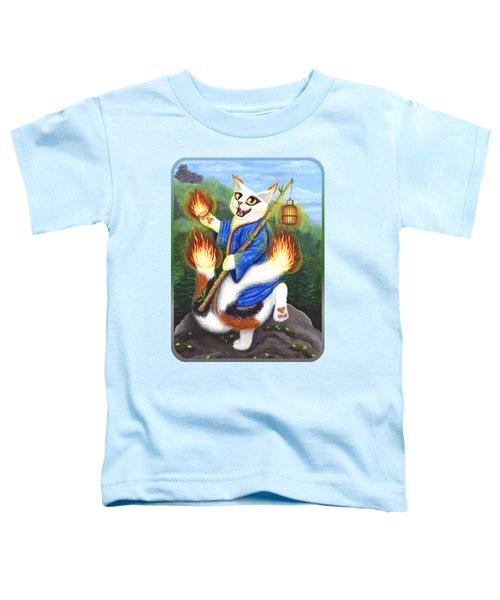 Bakeneko Nekomata - Japanese Monster Cat Toddler T-Shirt