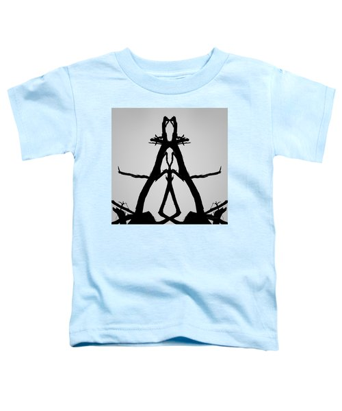 Balanced I Bw Toddler T-Shirt