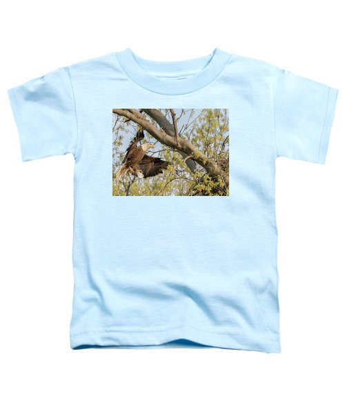 Bald Eagle Catch Of The Day  Toddler T-Shirt