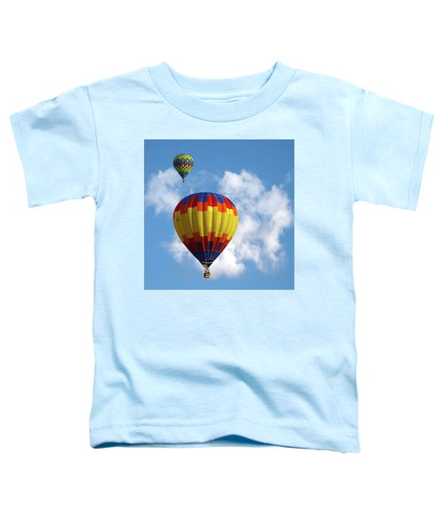 Balloons In The Cloud Toddler T-Shirt