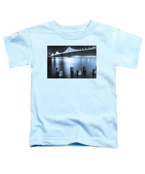 Bay Bridge 1 In Blue Toddler T-Shirt