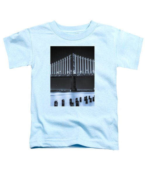 Bay Bridge 2 In Blue Toddler T-Shirt