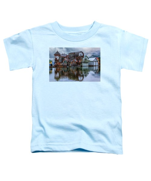 Bayview Houseboat Toddler T-Shirt
