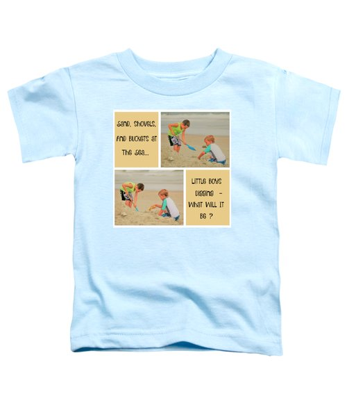 Beach Boys Digging Collage Toddler T-Shirt