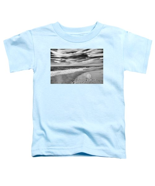 Toddler T-Shirt featuring the photograph Beach Break by Alison Frank