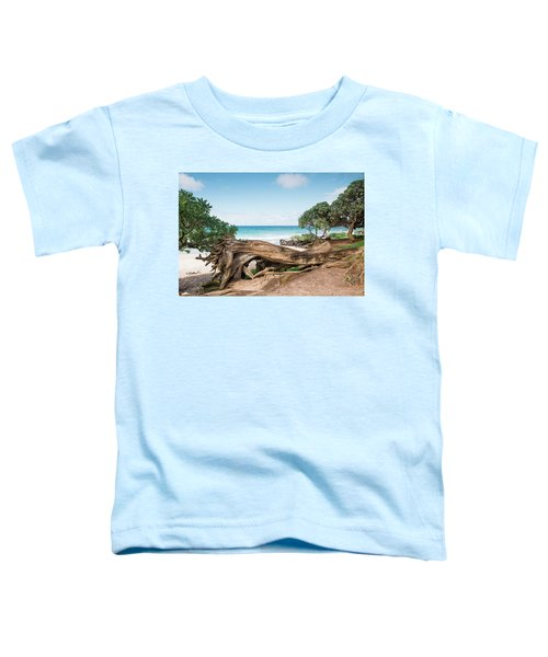 Beach Camping Toddler T-Shirt