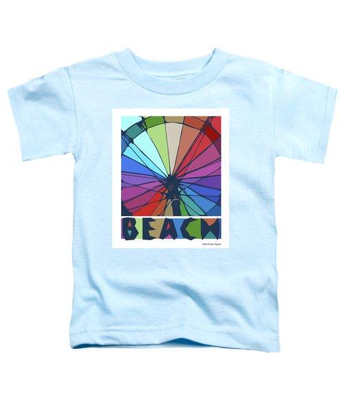 Beach Design By John Foster Dyess Toddler T-Shirt
