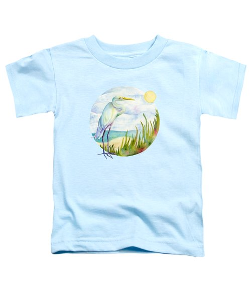 Beach Heron Toddler T-Shirt