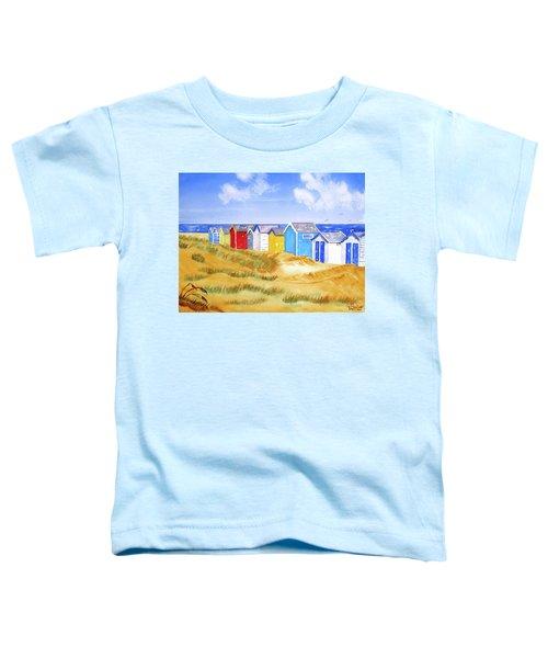 Beach Huts Toddler T-Shirt