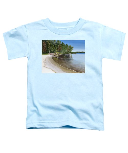 Beach In Muskoka Toddler T-Shirt