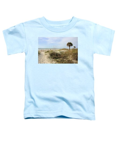 Beach Path Toddler T-Shirt