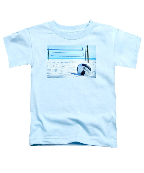 Volleyball On The Beach Toddler T-Shirt