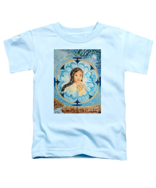 Flying Lamb Productions.        Beads Of Life Toddler T-Shirt