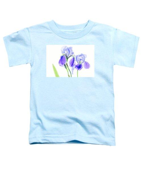 Bearded Iris Toddler T-Shirt
