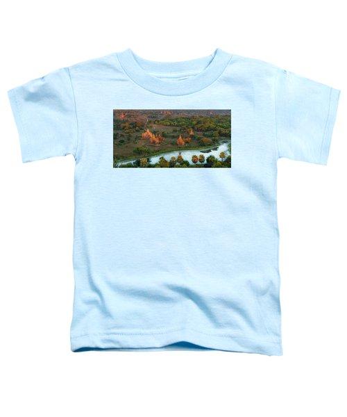 Beautiful Sunrise In Bagan Toddler T-Shirt
