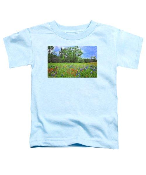 Beautiful Texas Spring Toddler T-Shirt