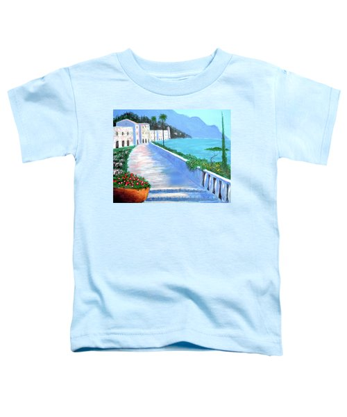 Beauty Of The Riviera Toddler T-Shirt