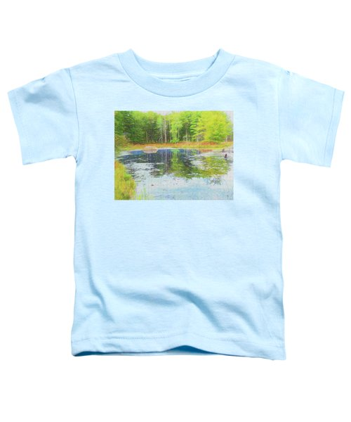Beaver Pond Reflections Toddler T-Shirt