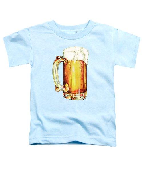 Beer Pattern Toddler T-Shirt