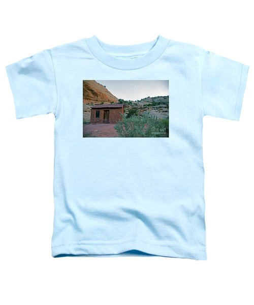 Behunin Cabin Capital Reef Toddler T-Shirt