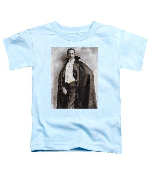 Bela Lugosi Hollywood Actor Toddler T-Shirt