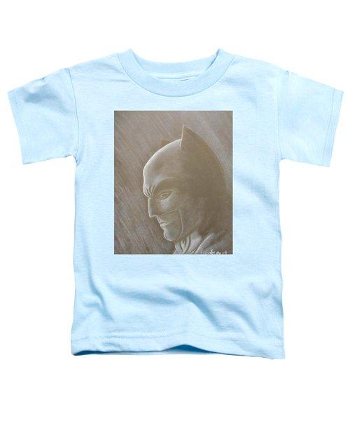 Ben As Batman Toddler T-Shirt by Josetta Castner