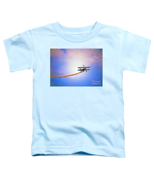 Bi-plane And Wing Walker Toddler T-Shirt