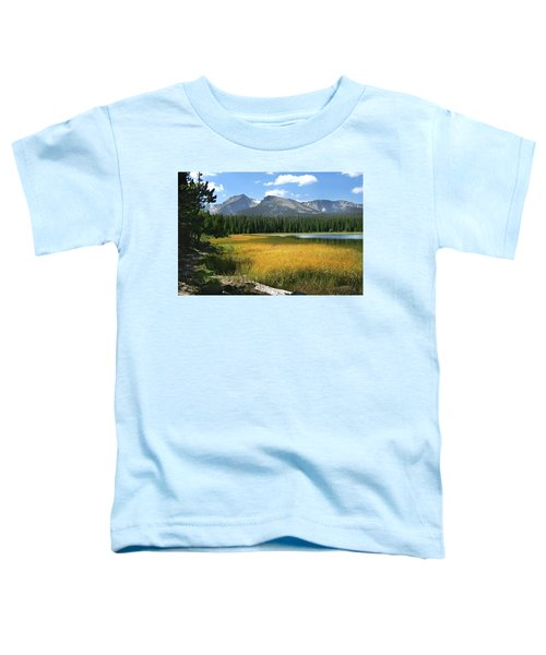 Toddler T-Shirt featuring the photograph Autumn At Bierstadt Lake by David Chandler