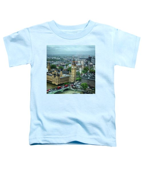 Big Ben From The London Eye Toddler T-Shirt