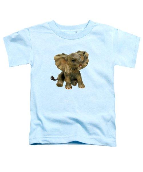 Beautiful African Baby Elephant Toddler T-Shirt