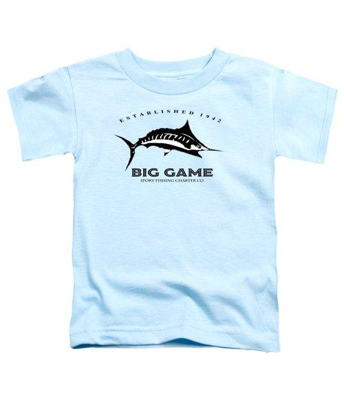 Big Game Fish Toddler T-Shirt