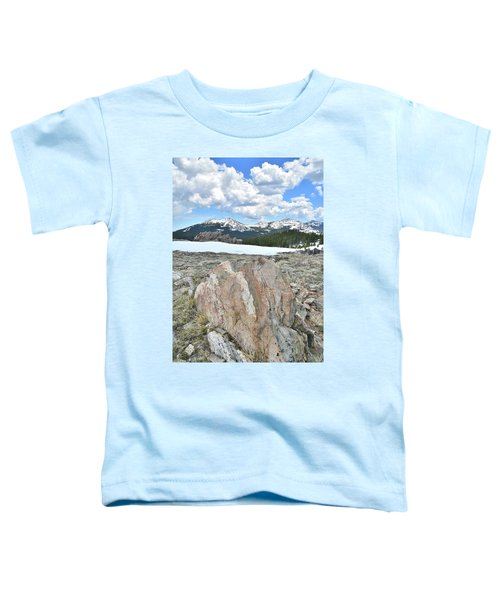 Big Horn Pass In Wyoming Toddler T-Shirt