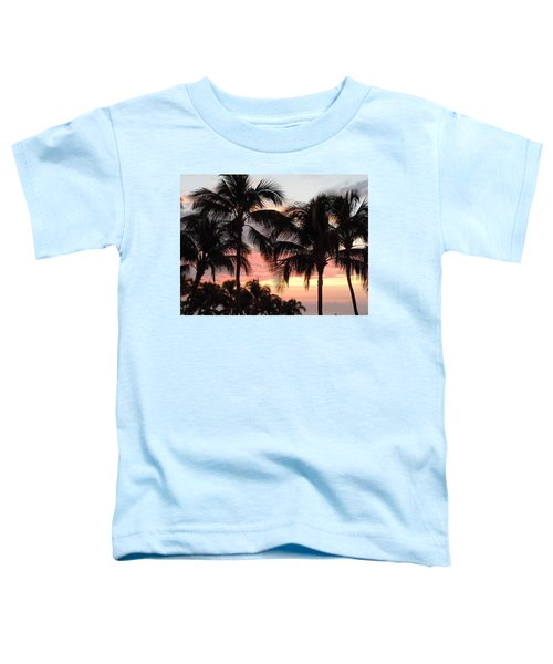 Big Island Sunset 1 Toddler T-Shirt