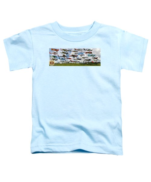 Big Muddy Fly-by Collage Toddler T-Shirt