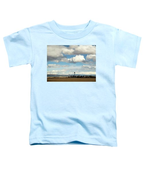 Big Sky Water Tower Toddler T-Shirt