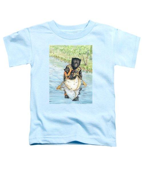 Birch Bark Canoe Toddler T-Shirt