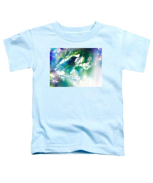 Bird And Blue Toddler T-Shirt