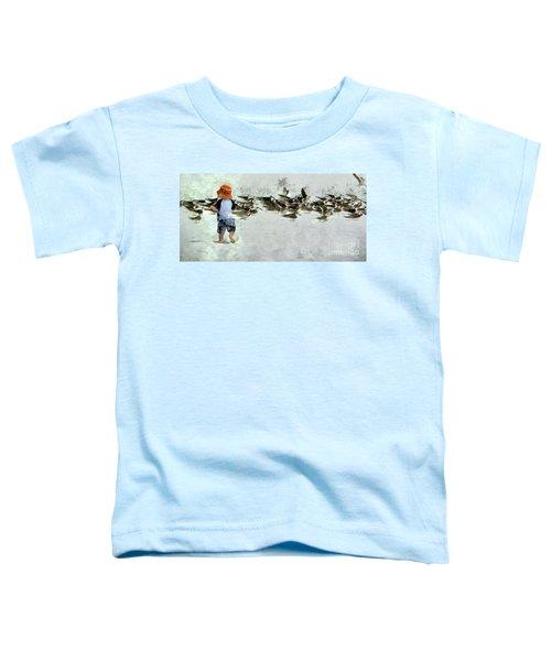 Bird Play Toddler T-Shirt