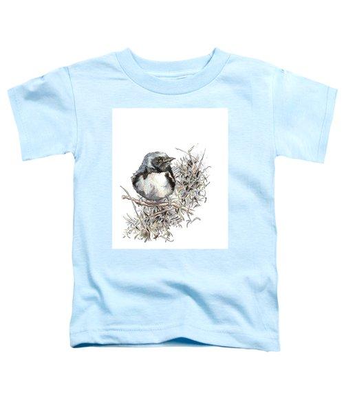 Black-throated Blue Warbler Toddler T-Shirt