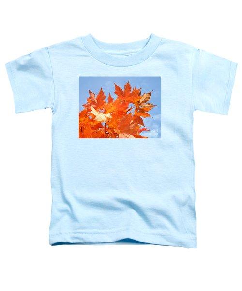 Blazing Maple Toddler T-Shirt