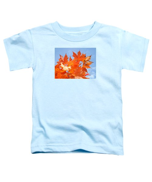 Blazing Maple Toddler T-Shirt