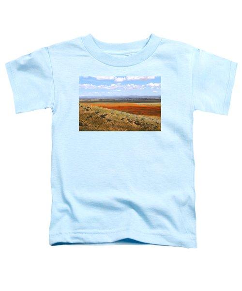 Blooming Season In Antelope Valley Toddler T-Shirt