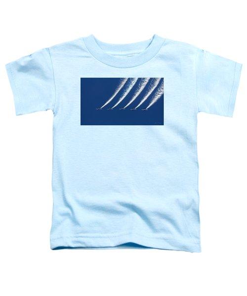 Blue Angels Formation Toddler T-Shirt