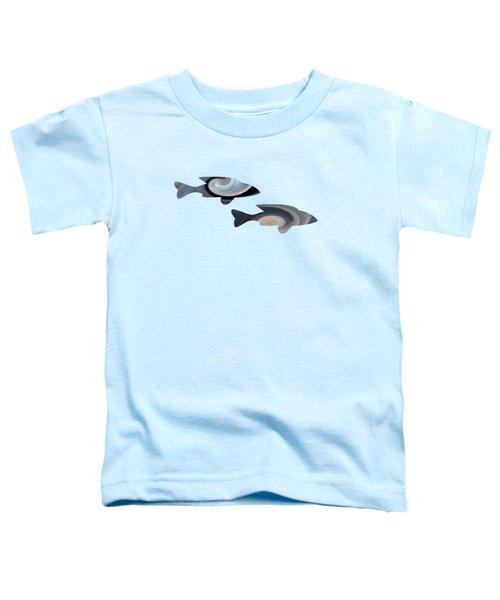 Blue Duo Toddler T-Shirt