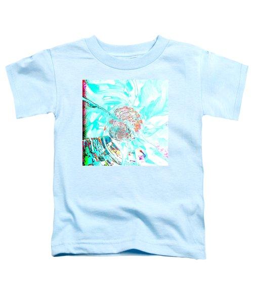 Blue Flower Toddler T-Shirt