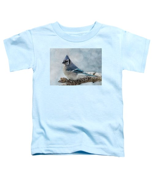 Blue Jay Perch Toddler T-Shirt