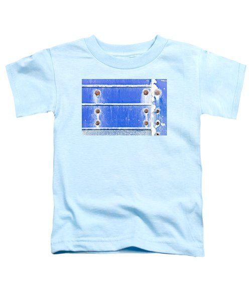 Blue Metal Background  Toddler T-Shirt