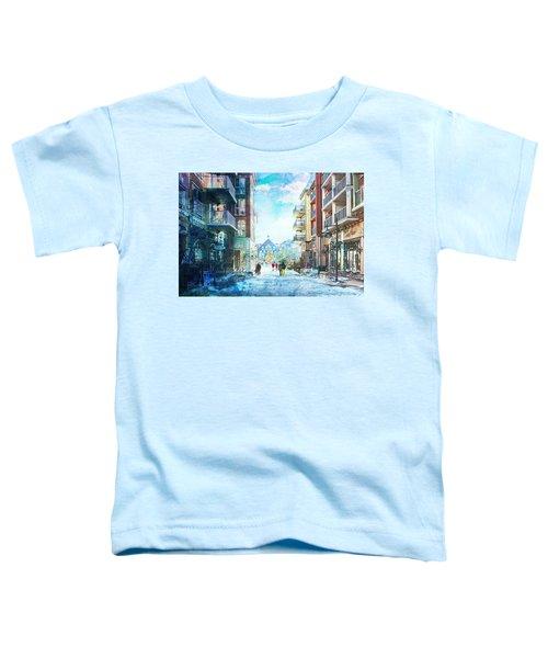 Blue Mountain Village, Ontario Toddler T-Shirt