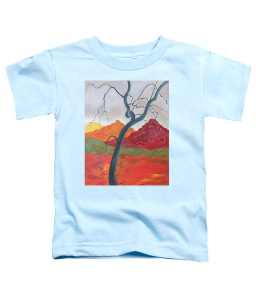 Blue Retama Toddler T-Shirt